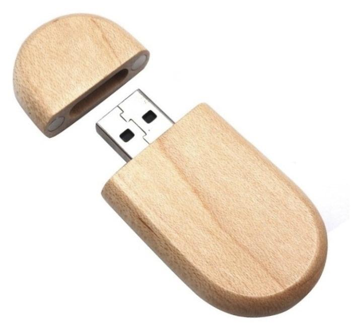 Dřevěný USB flash disk 32GB - Maple - dřevo