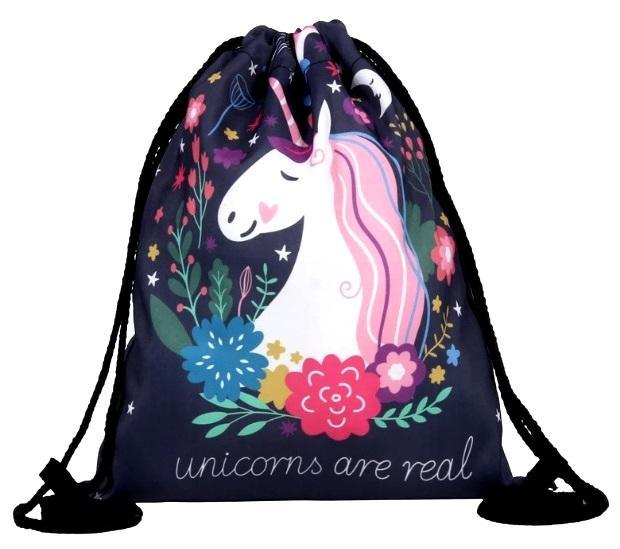 Gymsack - Vak na záda Jednorožec - Unicorn - single